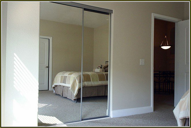 Best Mirrored Closet Doors Menards A Simple Upgrade To Any With Pictures