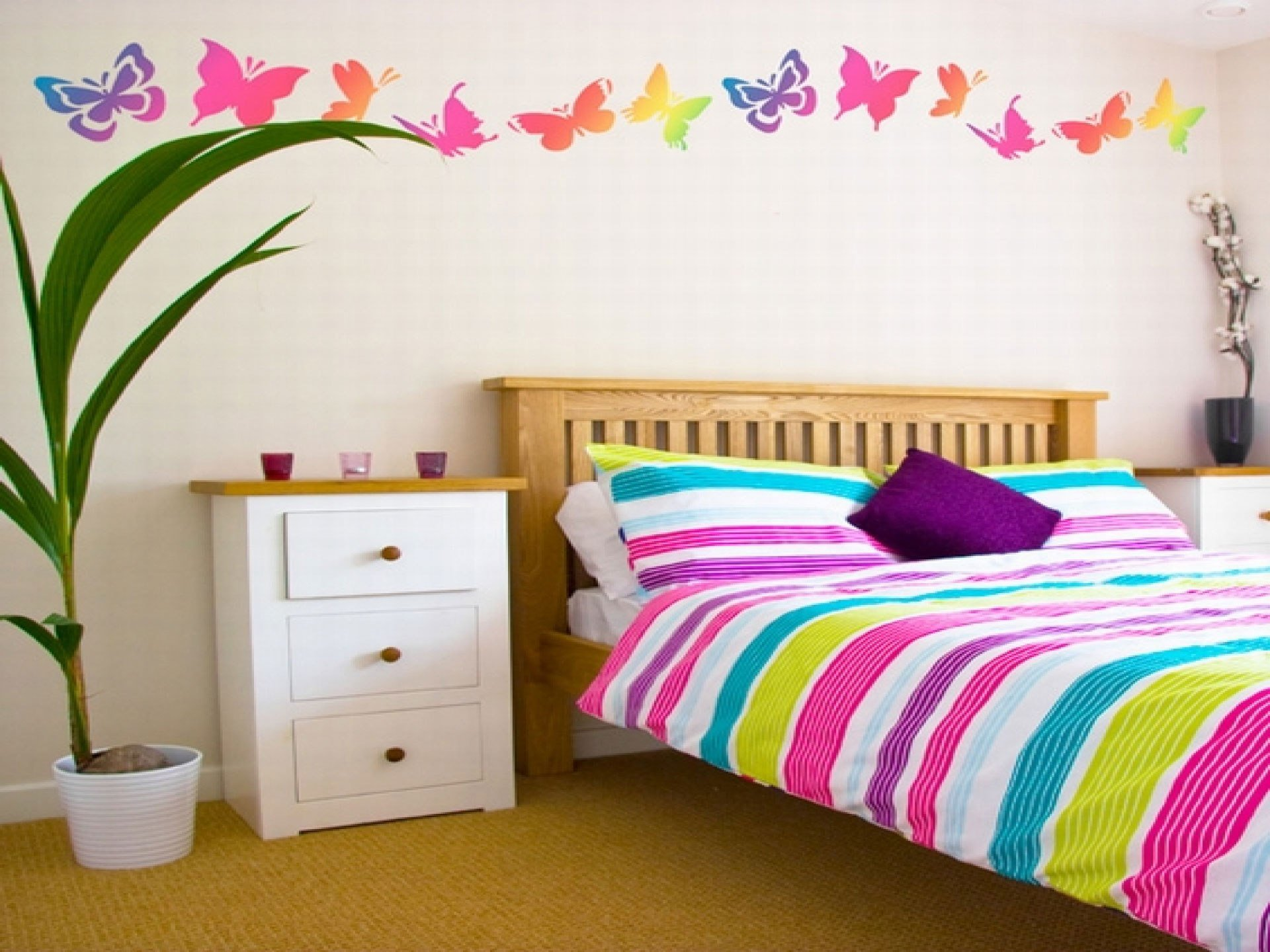 Best 15 Cheap And Easy Diy Wall Beautification With Butterflies With Pictures