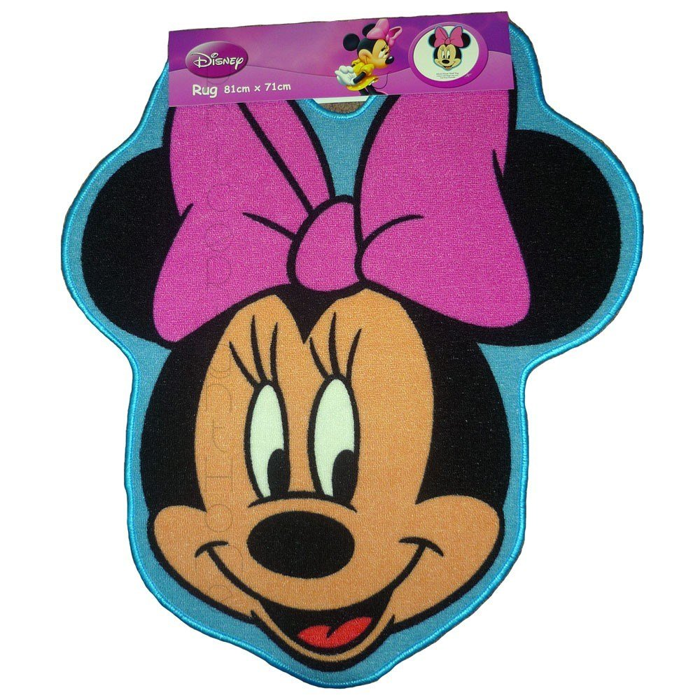 Best Disney Minnie Mouse Shaped Floor Rug Mat New Ebay With Pictures