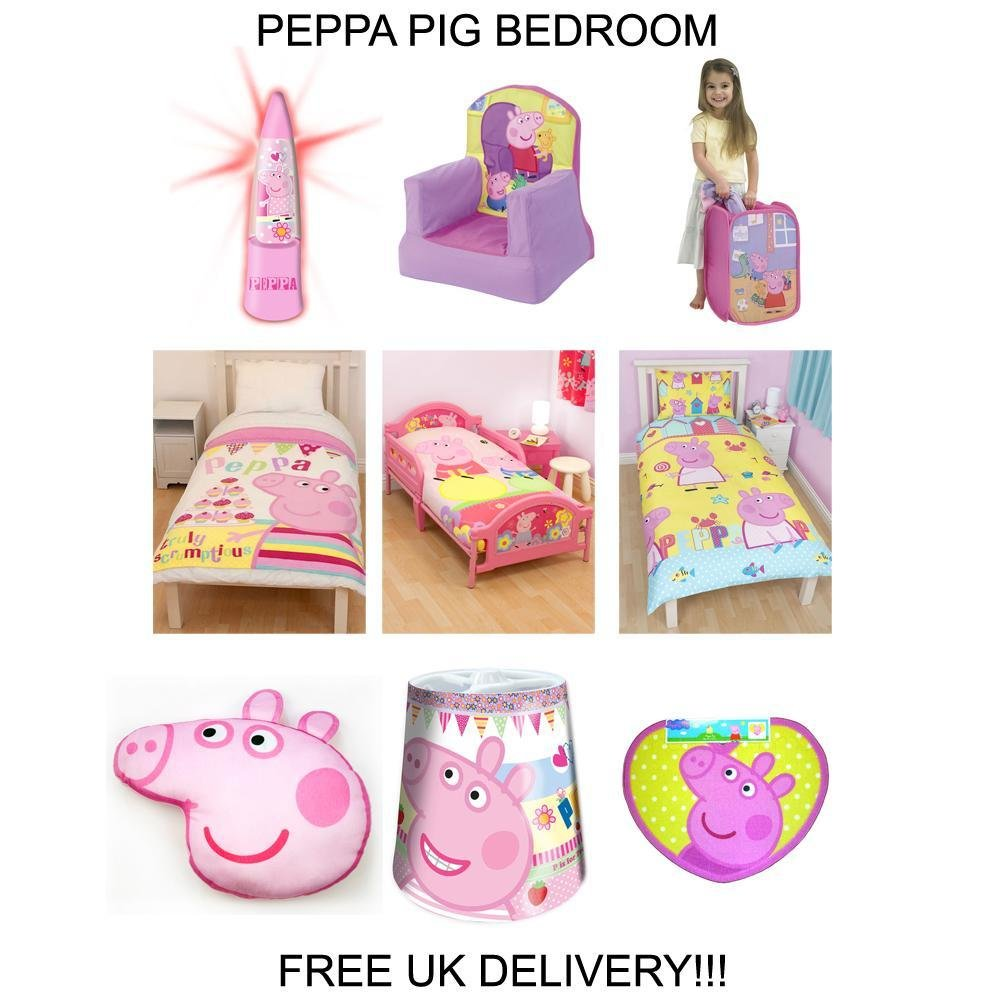 Best Peppa Pig Bedding Bedroom Decor Duvets Wall Stickers With Pictures