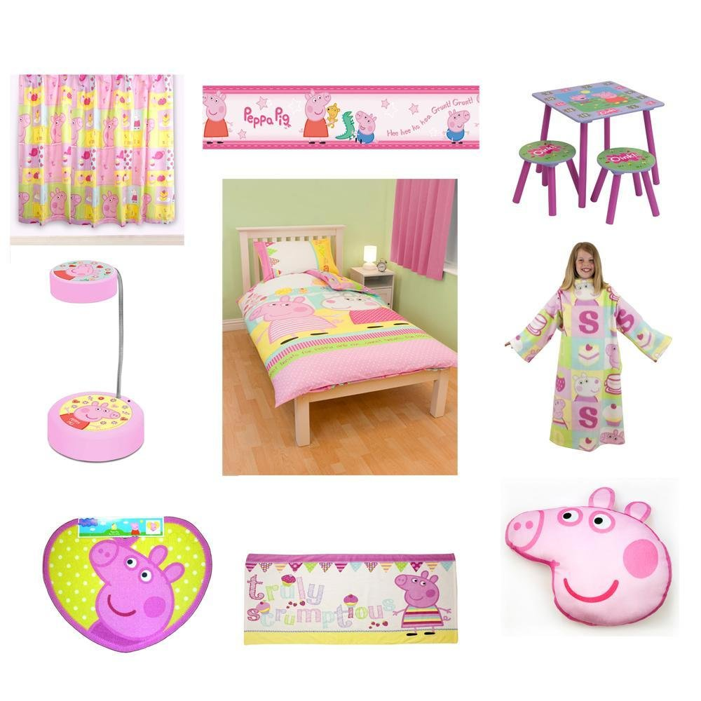Best Peppa Pig Bedding Bedroom Accessories New Free With Pictures