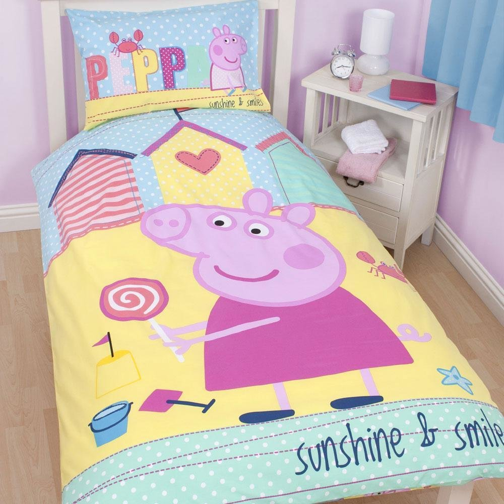 Best Official Peppa Pig Duvet Covers Bedding Bedroom With Pictures