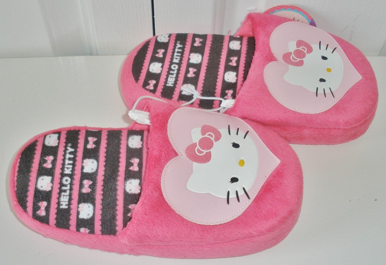 Best Nwt Girls Hello Kitty Pink Bow Heart Childrens Bedroom With Pictures