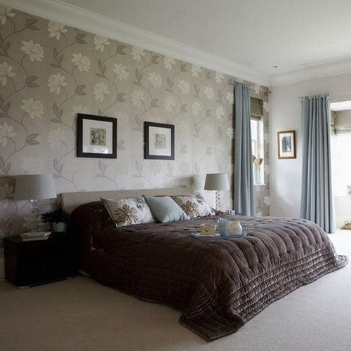 Best Bedrooms With Wallpaper And Feature Walls Silk Interiors With Pictures