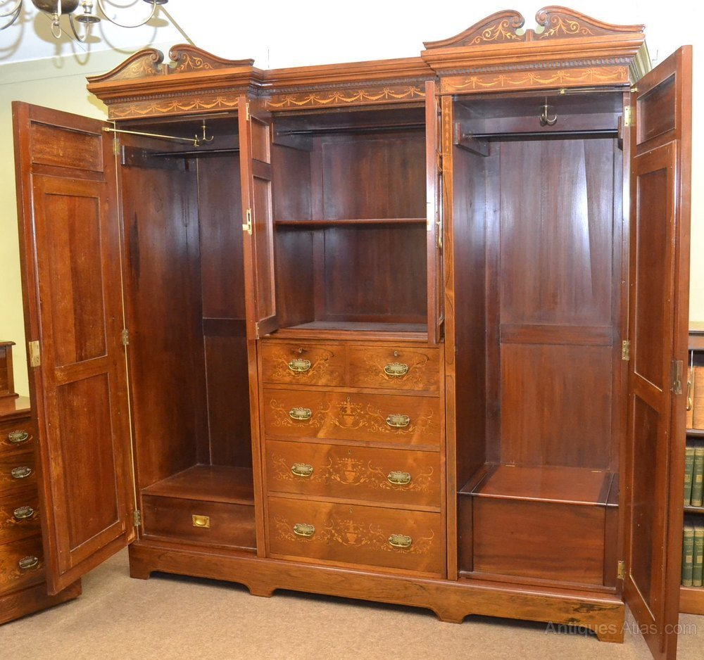 Best Inlaid Rosewood Bedroom Suite C1890 Antiques Atlas With Pictures