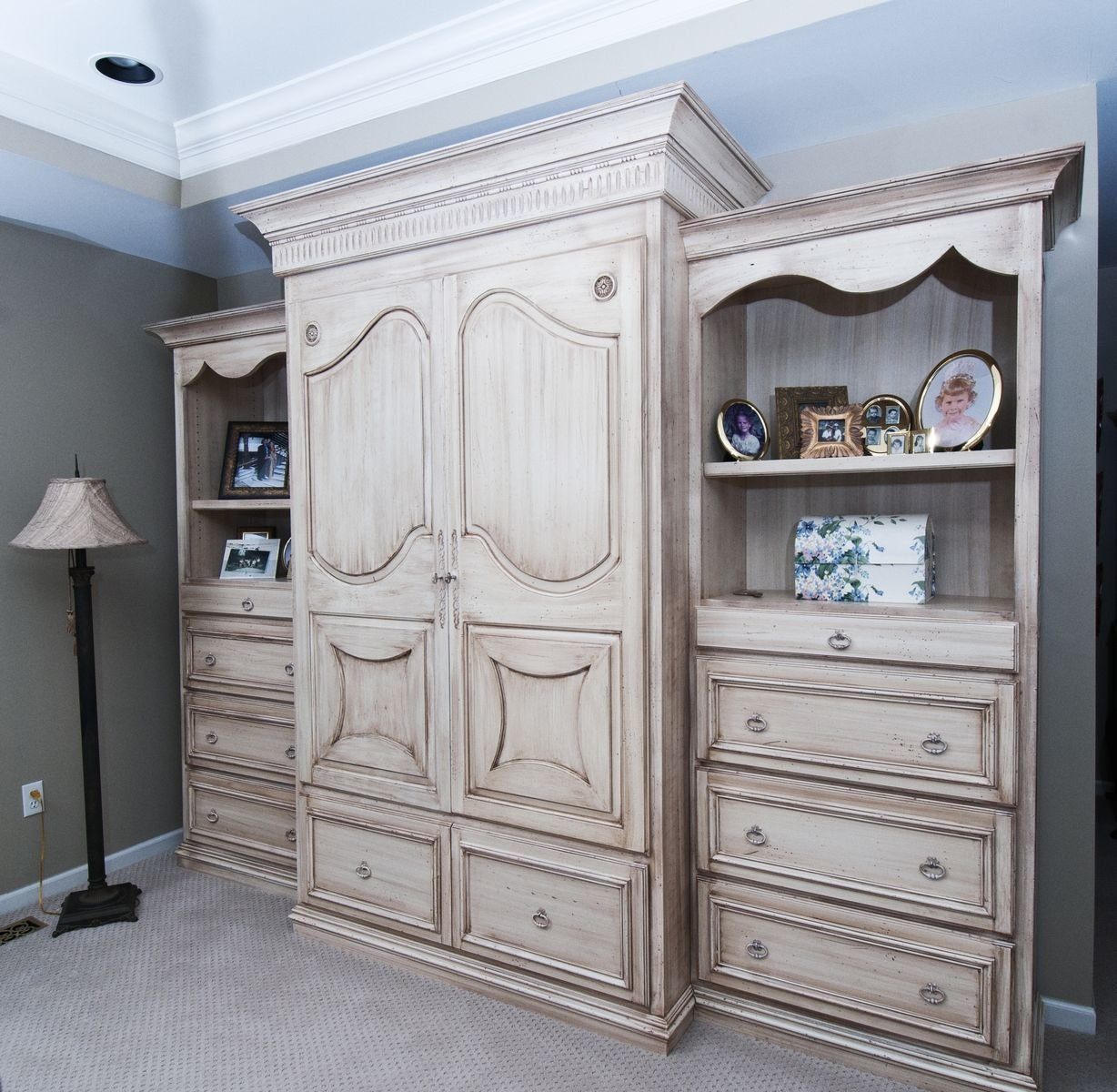 Best Hand Made Bedroom Wall Unit By Custom Wood Creations Custommade Com With Pictures