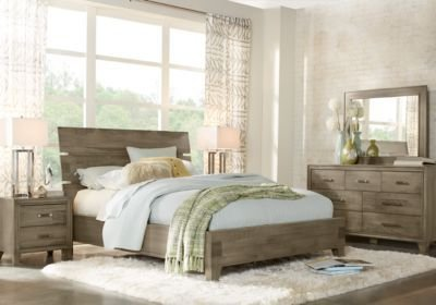 Best Crestwood Creek Gray 5 Pc Queen Panel Bedroom Queen With Pictures