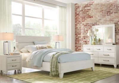 Best Crestwood Creek Off White 5 Pc King Panel Bedroom King With Pictures