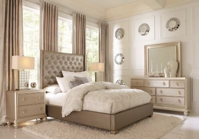 Best Sofia Vergara Paris Gray 5 Pc Queen Bedroom Queen With Pictures