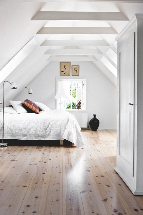 Best 43 Impressive Bedroom Designs With Exposed Wood Beams With Pictures