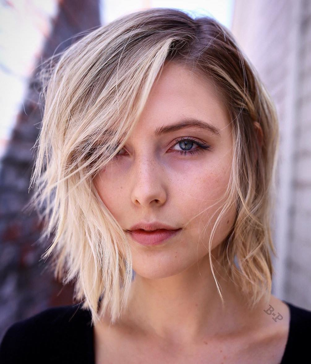 Free 65 Devastatingly Cool Haircuts For Thin Hair Wallpaper