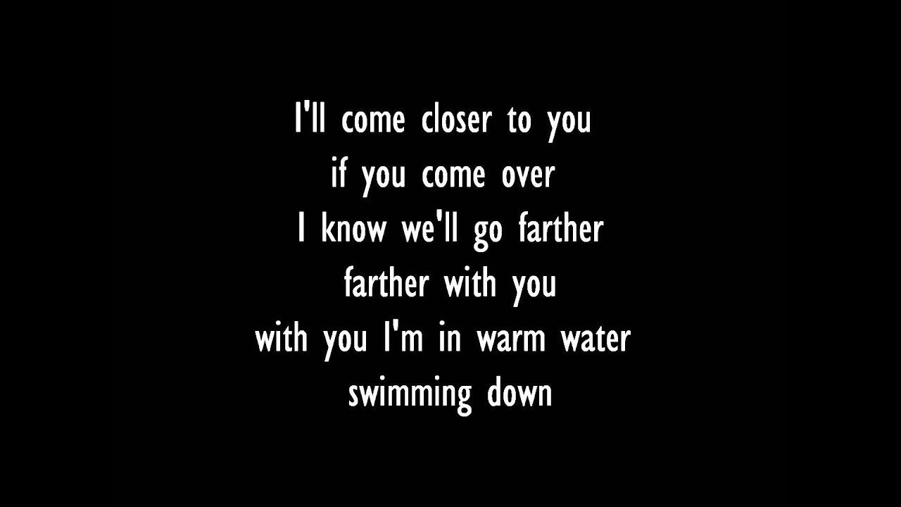 Best Banks Warm Water Lyrics Youtube With Pictures