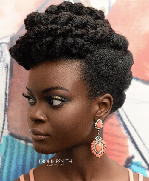 Free 50 Cute Updos For Natural Hair Wallpaper
