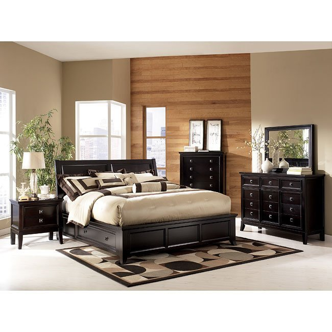 Best Martini Suite Storage Platform Bedroom Set Millennium With Pictures
