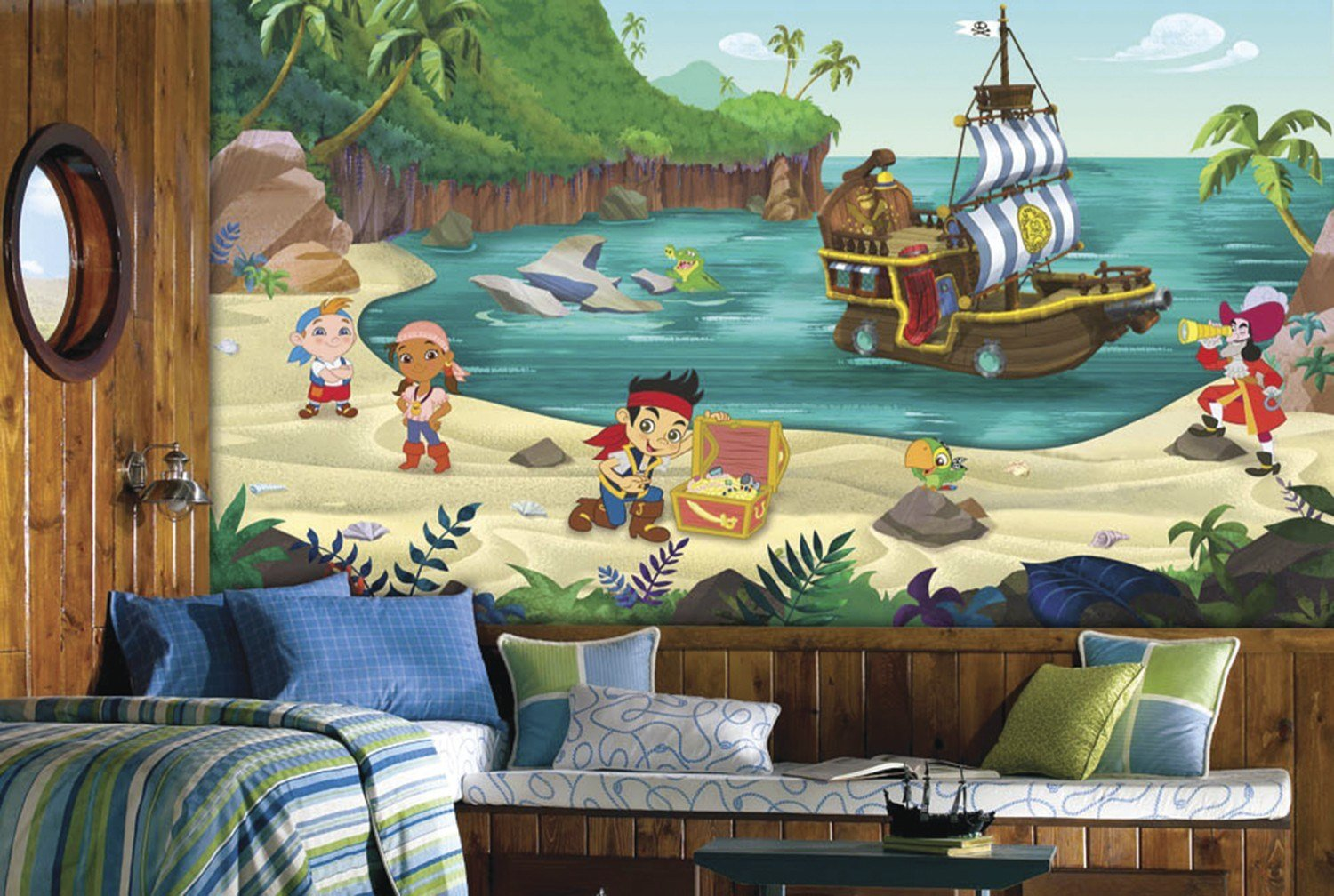 Best Jake And The Never Land Pirates Xl Mural 10 5 X 6 Wall With Pictures