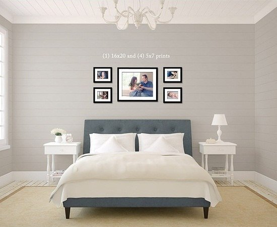 Best Decorating Home With Photo Frames Modern Interior And With Pictures