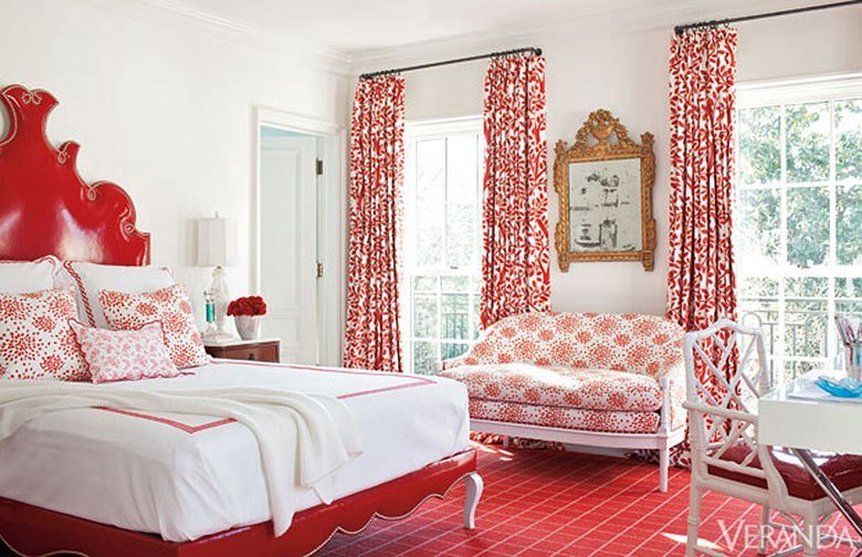 Best 20 Inspiring Red Rooms Making It Lovely With Pictures