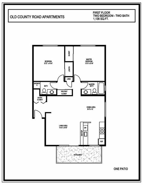 Best 2 Bedroom 2 Bath Apartments Marceladick Com With Pictures