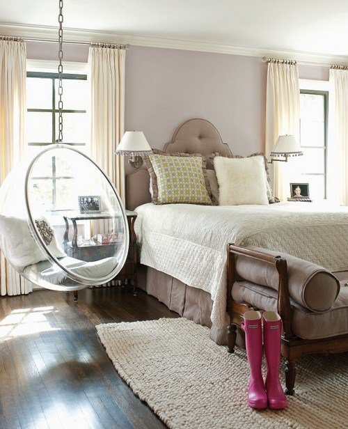 Best 32 Interior Designs With Hanging Bubble Chair Messagenote With Pictures