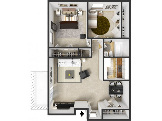 Best 2 Bed 1 Bath Apartment In Wyoming Mi Sunflower Apartments With Pictures