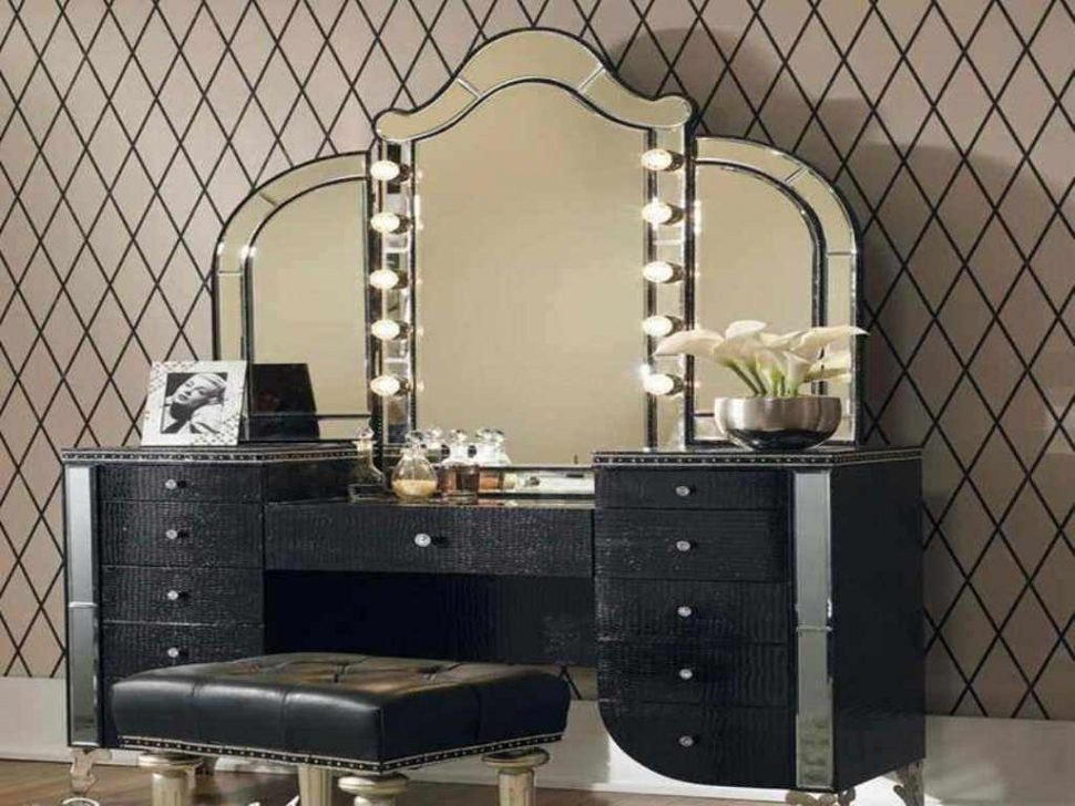 Best Popular Interior Vanities For Bedroom With Lights With With Pictures