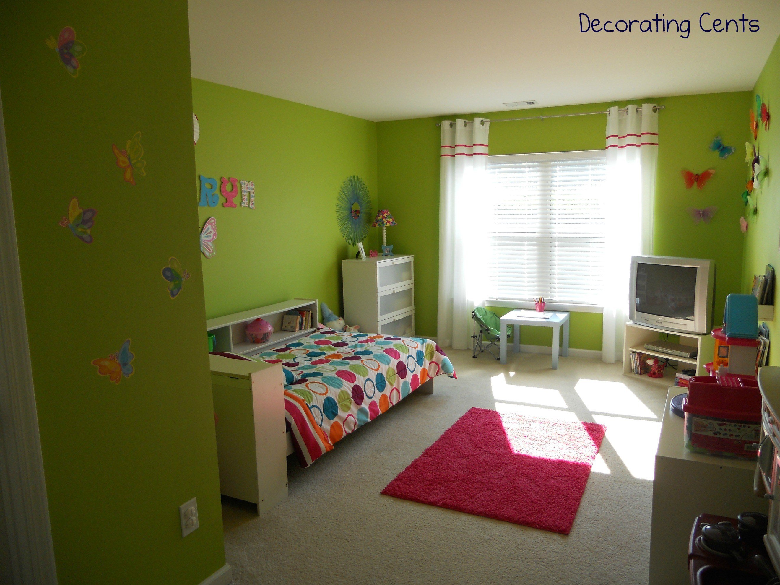 Best Little Girl S Butterfly Room Project Nursery With Pictures
