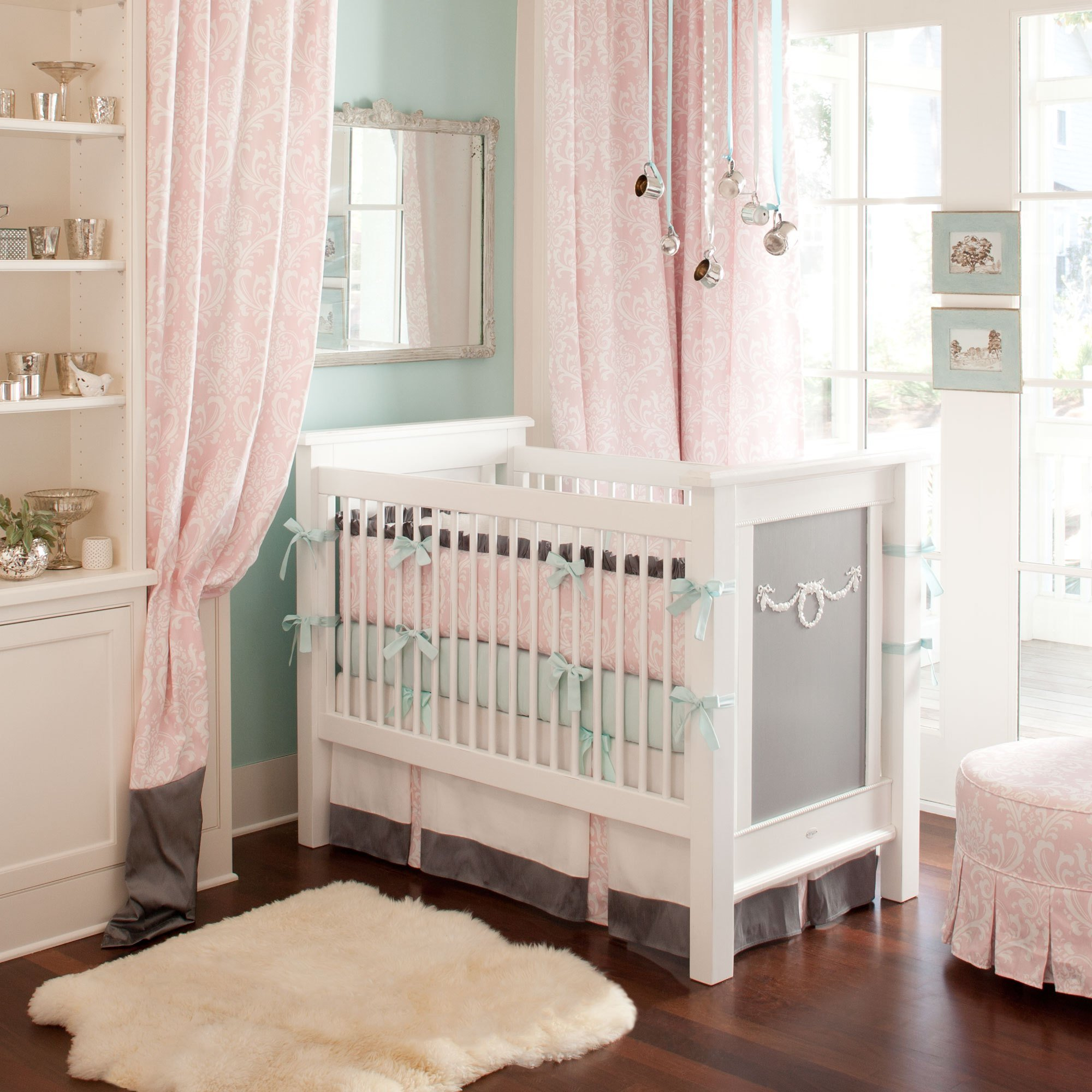 Best Giveaway Carousel Designs Crib Bedding Set With Pictures