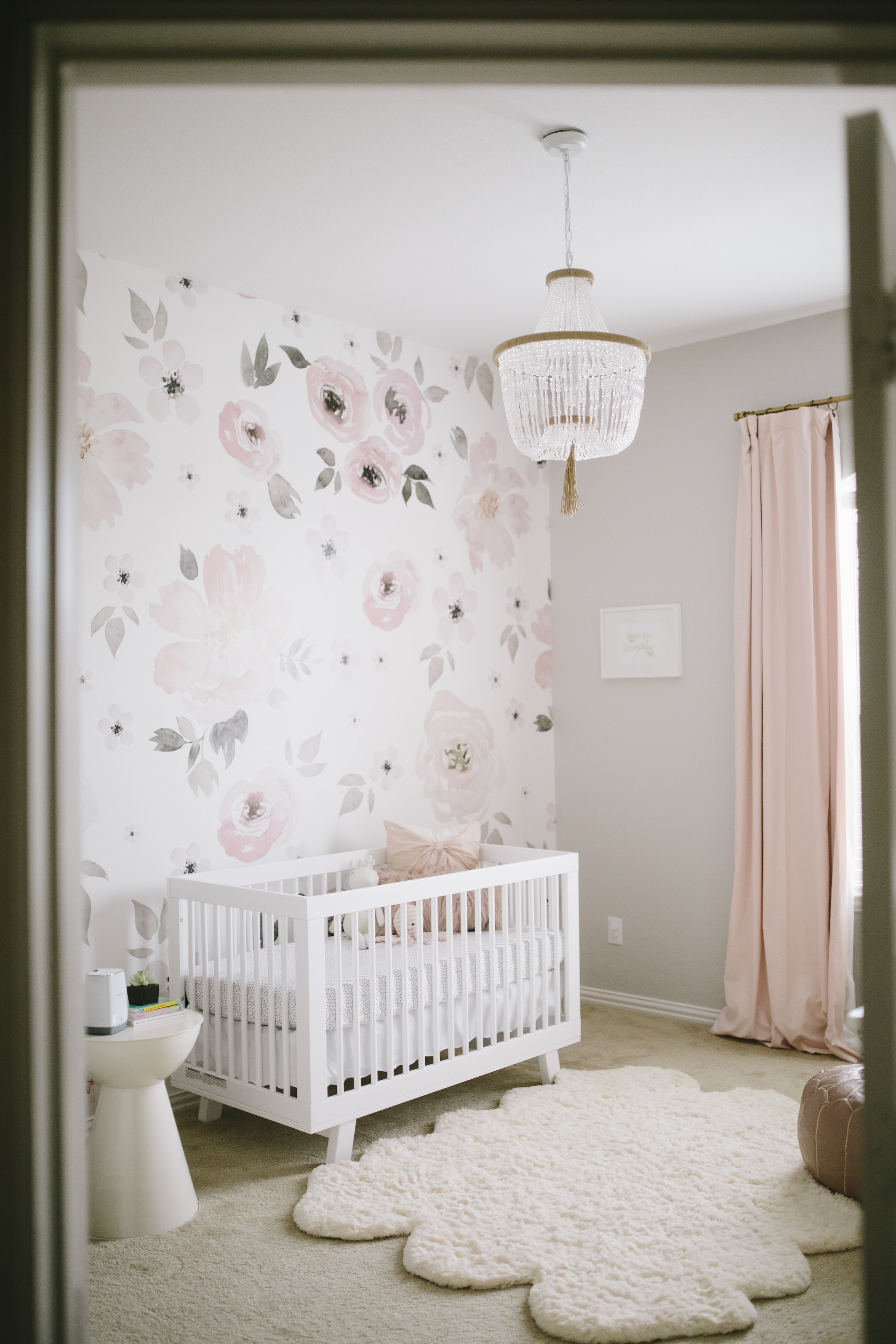 Best Harper S Floral Whimsy Nursery Project Nursery With Pictures