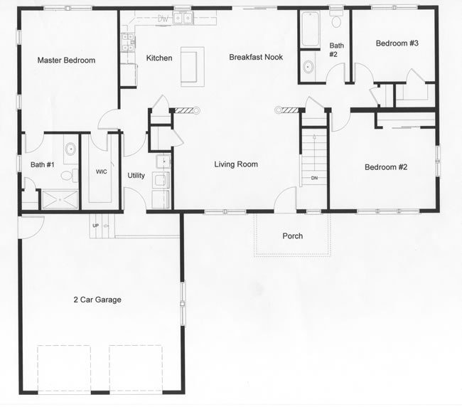 Best 3 Bedroom Floor Plans Monmouth County Ocean County New With Pictures