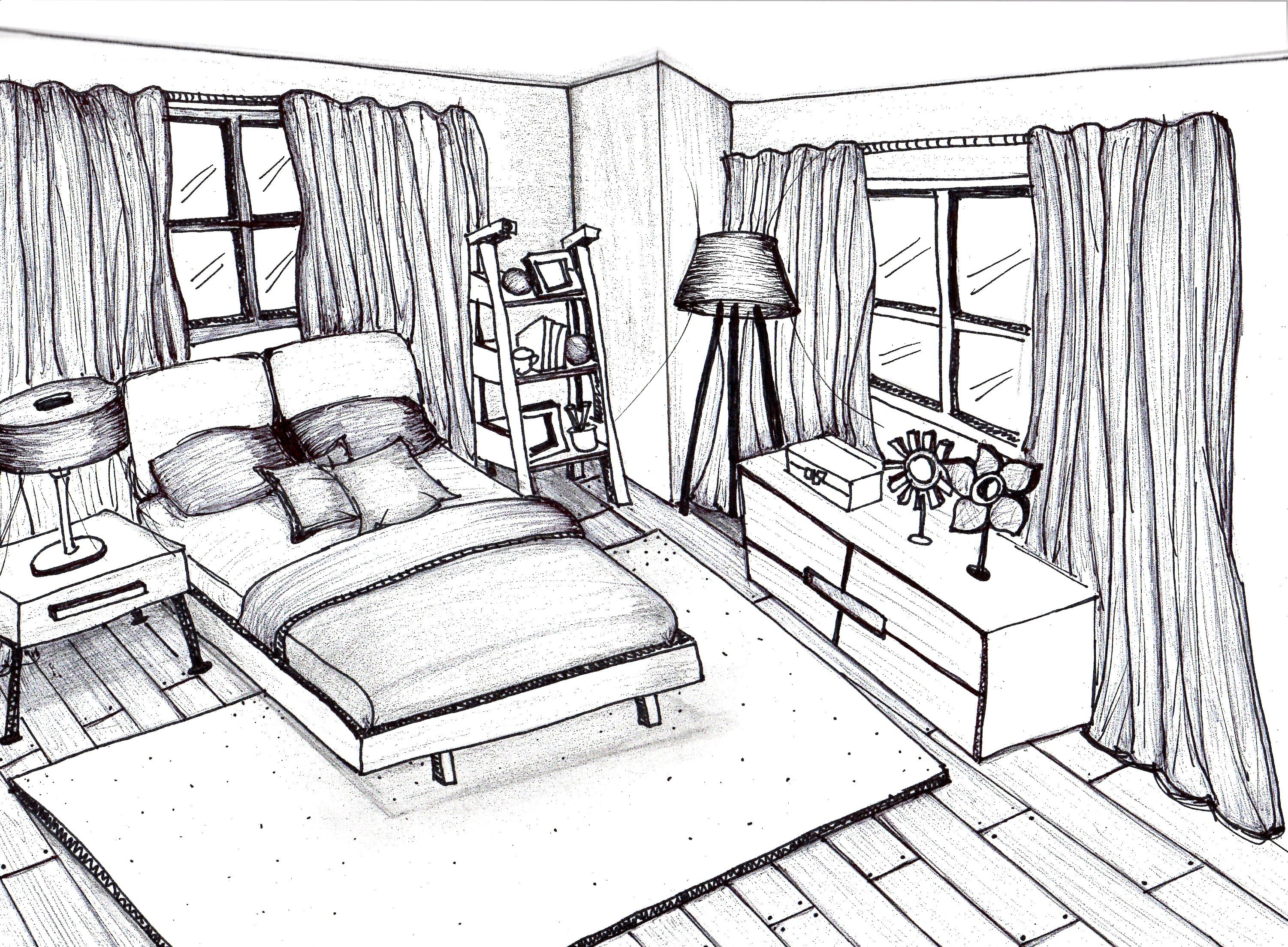 Best Freehand Sketching Rendering By Patricia Alvarenga At With Pictures