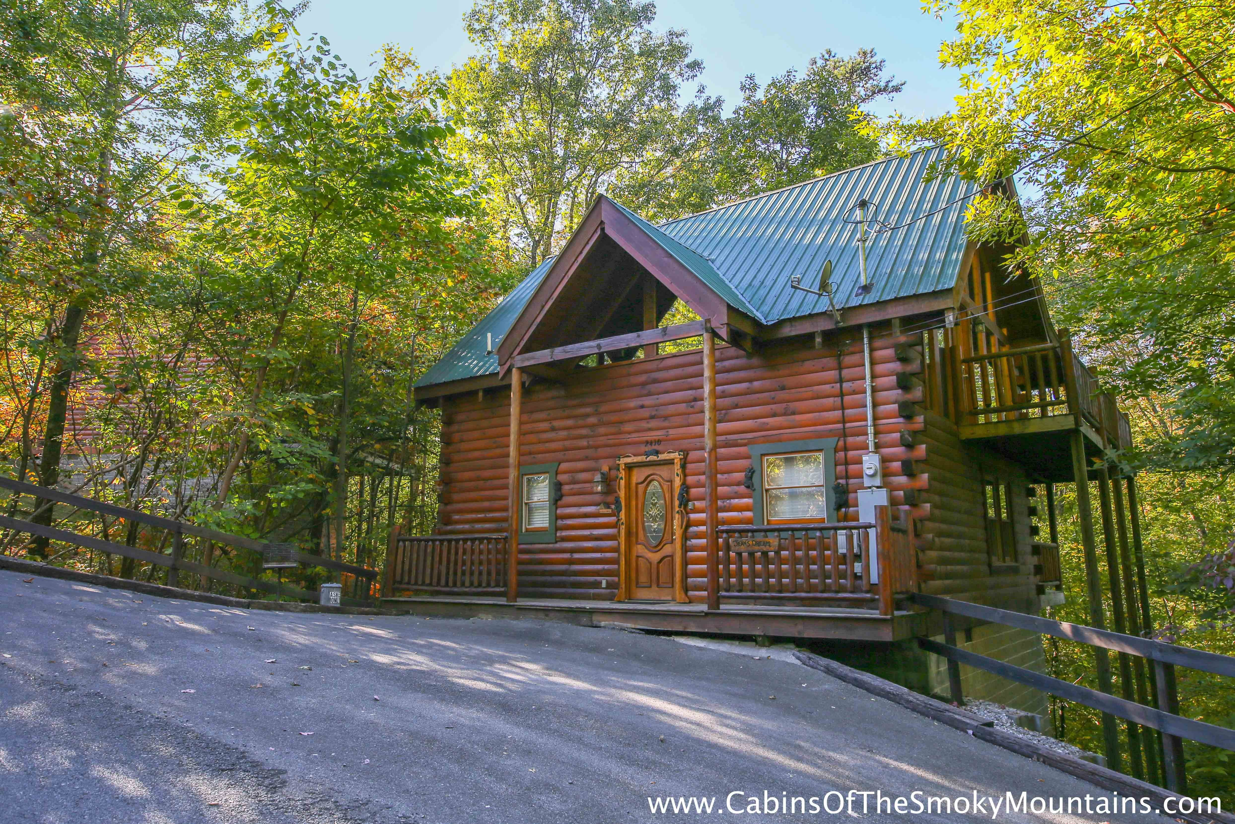 Best Pigeon Forge Cabin Jean S Dream 2 Bedroom Sleeps 4 With Pictures