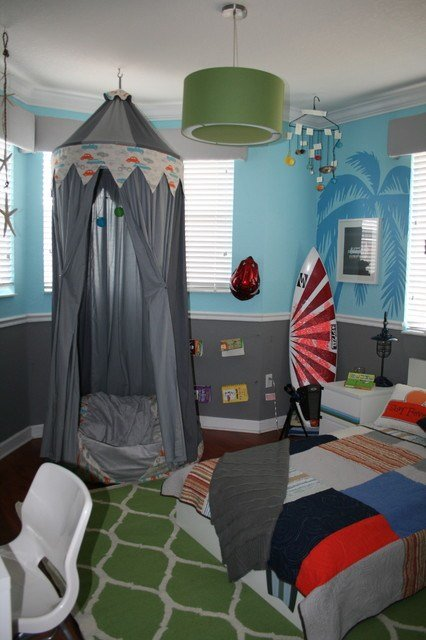 Best Surf Themed Bedroom Contemporary Kids Miami By With Pictures