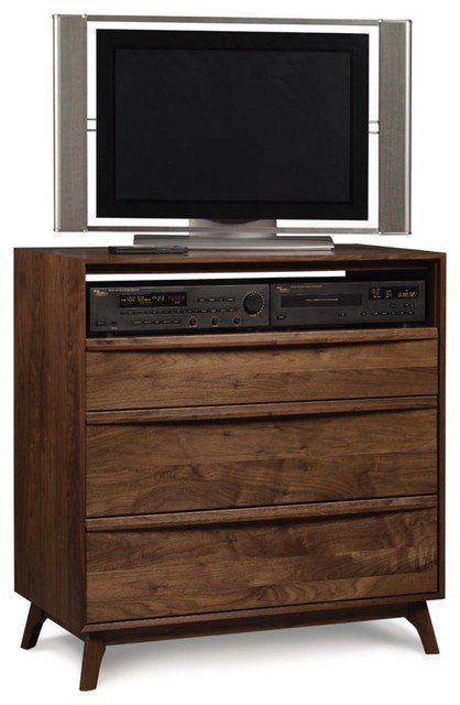 Best Catalina 3 Drawer Dresser And Tv Stand Modern Dressers With Pictures