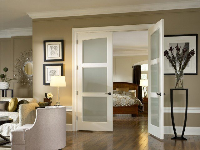 Best Glass Doors Traditional Bedroom Other Metro By With Pictures