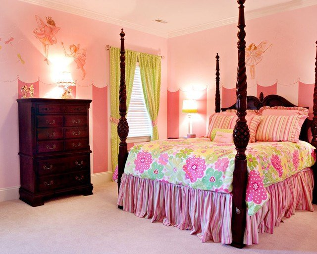 Best Fairy Princess Bedroom Traditional Bedroom Charlotte With Pictures