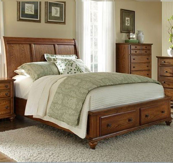 Best Broyhill Furniture Hayden Place Queen Storage Sleigh Bed With Pictures