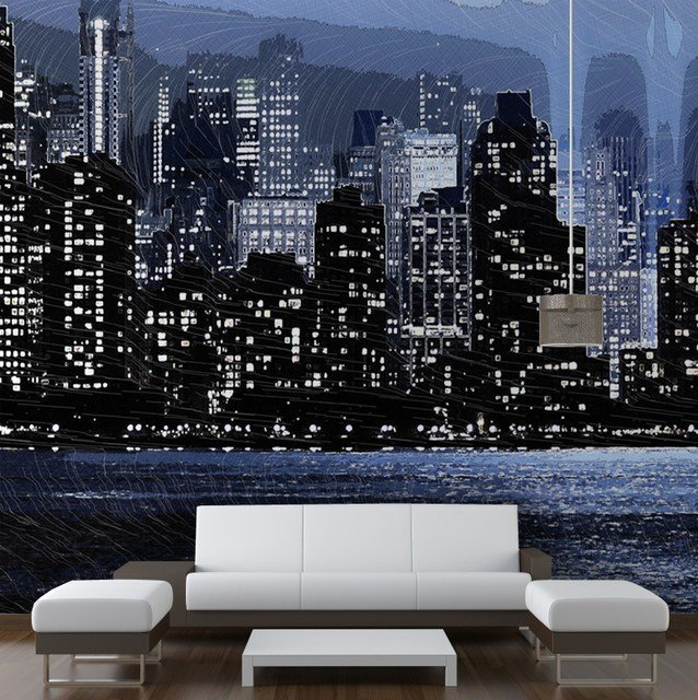 Best New York Skyline Modern Wallpaper Other Metro By With Pictures