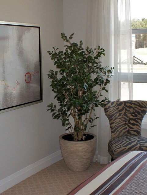 Best Artificial Floral Arrangements And Trees Contemporary Bedroom Ottawa By Bernacki With Pictures
