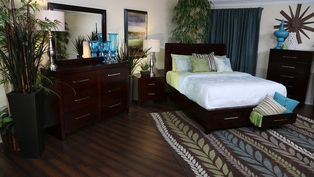 Best Metro Bedroom Collection Contemporary Bedroom San With Pictures