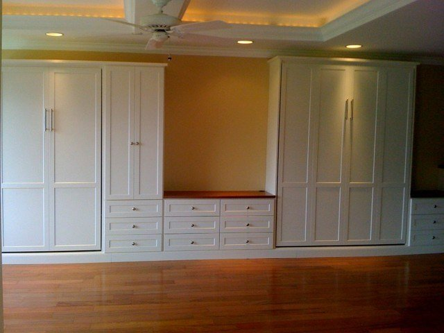 Best Diamond Head Condo Wall Beds Media Center Traditional With Pictures