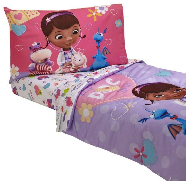 Best Doc Mcstuffins Toddler Bedding Doctor Is In Comforter With Pictures