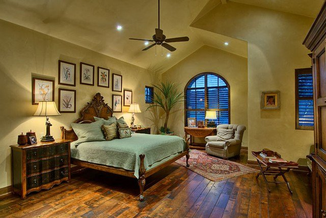 Best Hill Country Ranch Master Bedroom Traditional Bedroom With Pictures