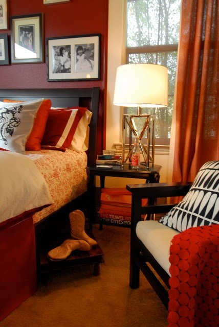 Best The Crimson Guest Bedroom And Bath Suite Eclectic Los With Pictures