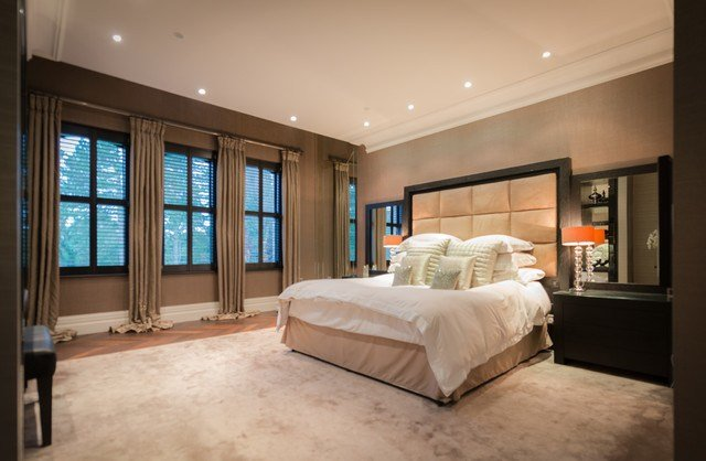 Best Zen Themed Master Bedroom With Walk In Dressing Area With Pictures