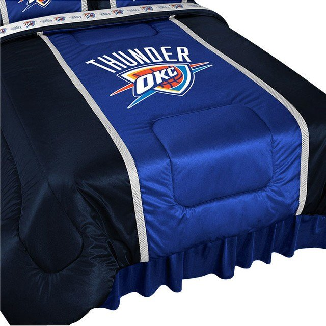 Best Nba Oklahoma City Thunder Bed Comforter Basketball Bedding With Pictures