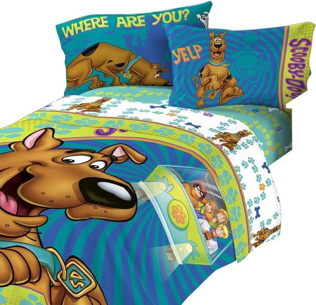 Best Scooby Doo Twin Bedding Set Smiling Scooby Bed With Pictures