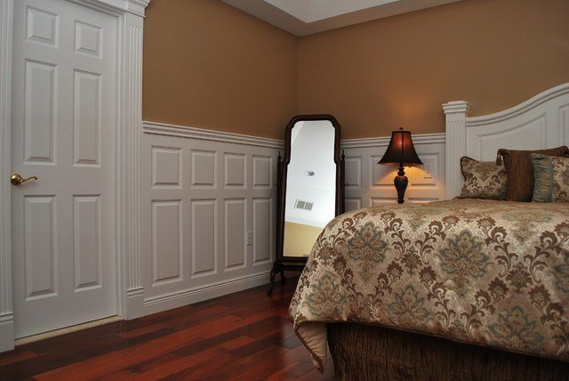 Best Wainscoting Beadboard With Raised Panel Headboard With Pictures