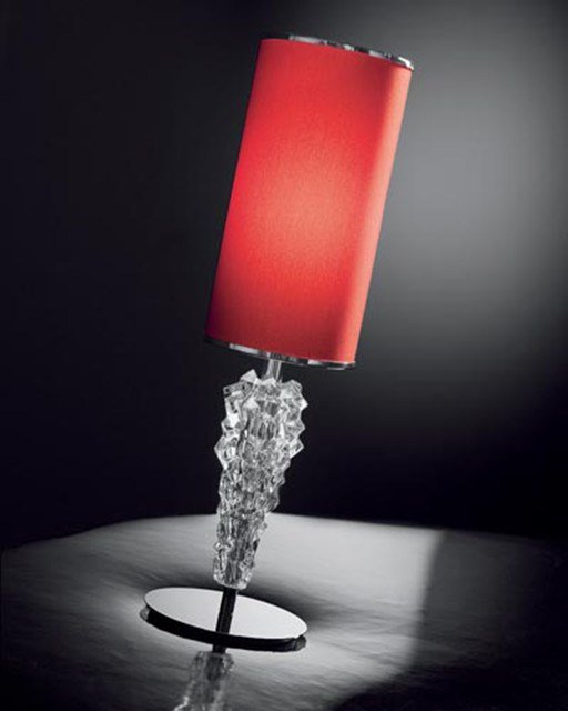 Best Cylinder Shade Bedroom Table Lamp Contemporary Table With Pictures