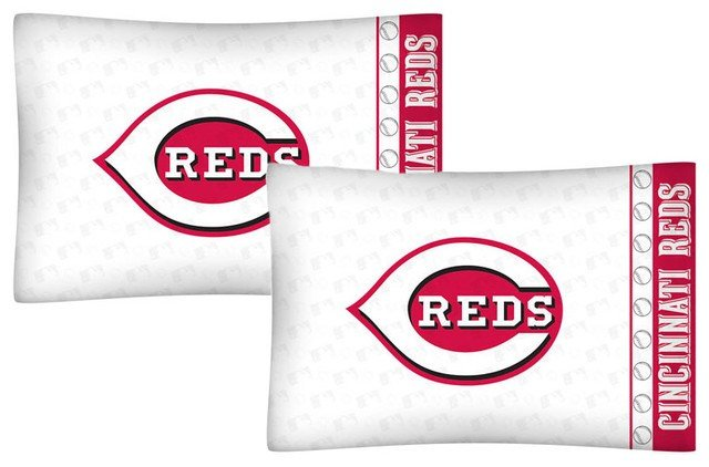 Best Mlb Cincinnati Reds Pillowcases Baseball Pillow Covers With Pictures