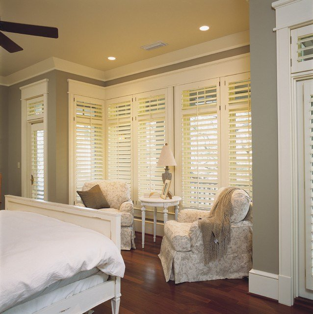 Best Bedroom Plantation Shutters Shabby Chic Style Bedroom Adelaide By All Shutters And With Pictures